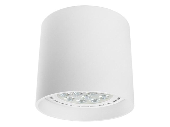 Oprawa natynkowa okrągła GU10 ES AR111 stała biała aluminiowa do domu Oprawa halogenowa Okrągłe Oprawa stropowa Kolor Biały Kategoria Oprawy oświetleniowe