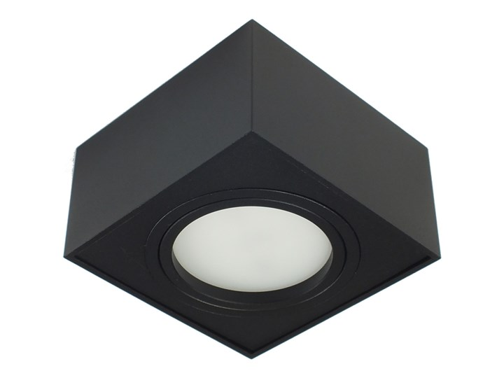 Nowoczesna oprawa sufitowa GX53 kwadrat ruchoma czarna czarny mat aluminiowa Oprawa led Oprawa ruchoma Oprawa halogenowa Kwadratowe Oprawa stropowa Kategoria Oprawy oświetleniowe
