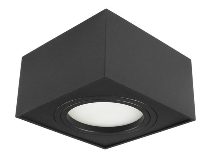 Nowoczesna oprawa sufitowa GX53 kwadrat ruchoma czarna czarny mat aluminiowa Oprawa ruchoma Kwadratowe Oprawa halogenowa Oprawa stropowa Oprawa led Kategoria Oprawy oświetleniowe