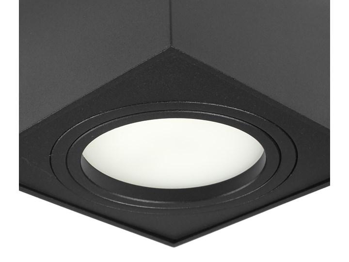 Nowoczesna oprawa sufitowa GX53 kwadrat ruchoma czarna czarny mat aluminiowa Oprawa stropowa Oprawa halogenowa Oprawa led Kwadratowe Oprawa ruchoma Kategoria Oprawy oświetleniowe