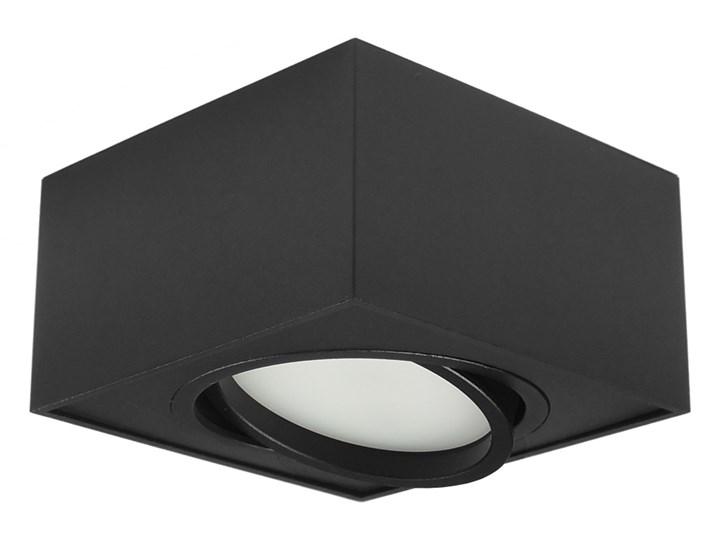 Nowoczesna oprawa sufitowa GX53 kwadrat ruchoma czarna czarny mat aluminiowa Kwadratowe Oprawa led Oprawa ruchoma Oprawa halogenowa Oprawa stropowa Kategoria Oprawy oświetleniowe