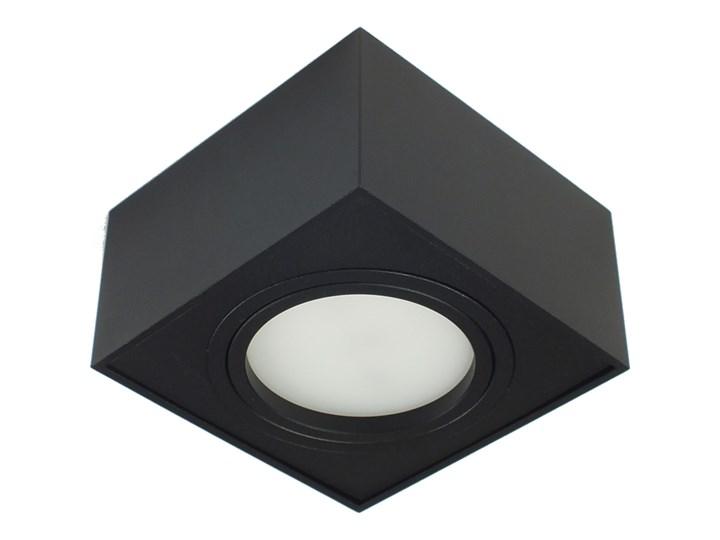 Nowoczesna oprawa sufitowa GX53 kwadrat ruchoma czarna czarny mat aluminiowa Kwadratowe Oprawa stropowa Oprawa led Oprawa halogenowa Oprawa ruchoma Kategoria Oprawy oświetleniowe