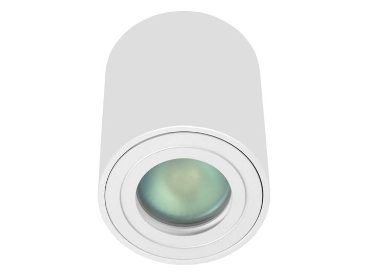 Sufitowa oprawa natynkowa IP65, okrągła, tuba, biały mat aluminiowa Oprawa led Okrągłe Oprawa halogenowa Oprawa stropowa Kategoria Oprawy oświetleniowe