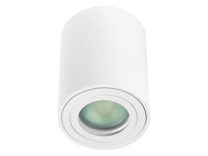 Sufitowa oprawa natynkowa IP65, okrągła, tuba, biały mat aluminiowa Oprawa halogenowa Oprawa stropowa Oprawa led Okrągłe Kategoria Oprawy oświetleniowe