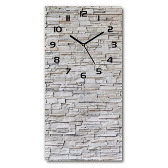 Zegar ścienny cichy Kamienna ściana