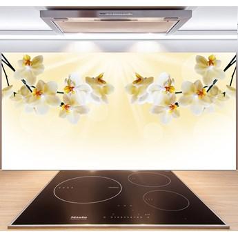 Panel między meble w kuchni Orchidea