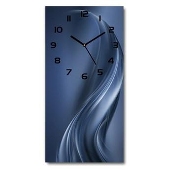 Zegar ścienny Abstrakcyjna fala
