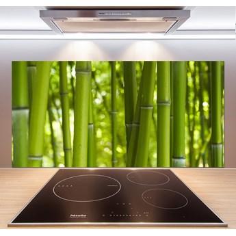 Panel szklany do kuchni Bambus