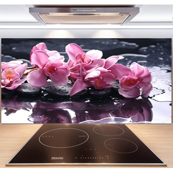 Panel do kuchni Różowa orchidea