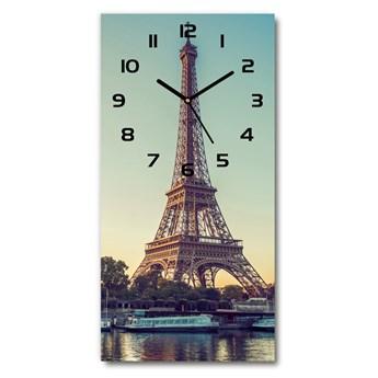 Zegar ścienny Wieża Eiffla Paryż