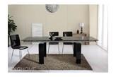 Stół szklany rozkładany 160/240 cm King Home Innovation Medium czarny SI-STB-2003B1.6/2.4 + Wysyłka już od 8,9 !!!