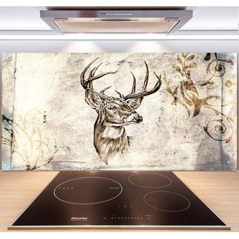 Panel szklany do kuchni Jeleń
