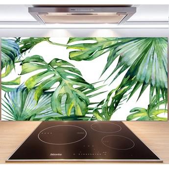 Panel do kuchni Tropikalne liście