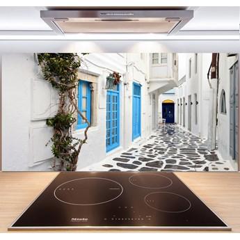Panel do kuchni Greckie uliczki