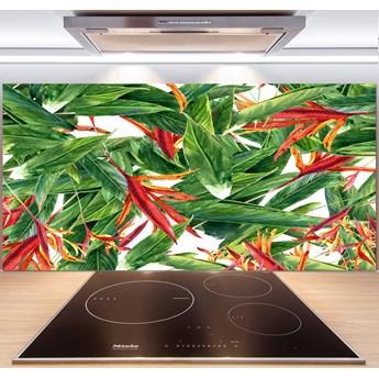Panel do kuchni Kwiecisty wzór