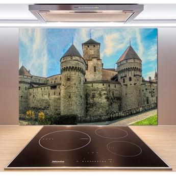 Panel do kuchni Zamek w Szwajcarii