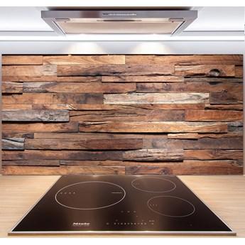 Panel do kuchni Drewniana ściana