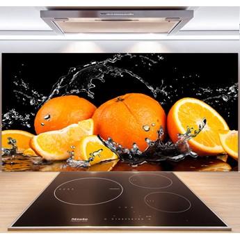 Panel do kuchni Pomarańcze i woda