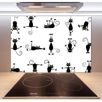 Panel do kuchni Koty ilustracja