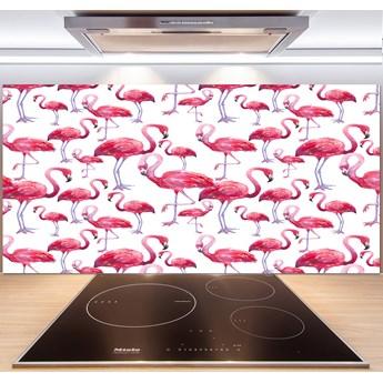Panel między meble w kuchni Flamingi