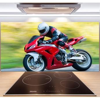 Panel między meble w kuchni Motocykl