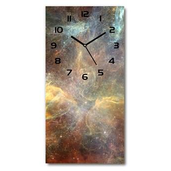 Nowoczesny zegar ścienny Kosmos