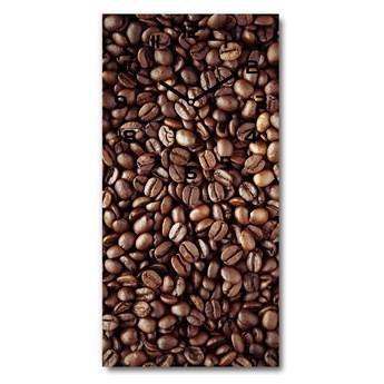 Nowoczesny zegar ścienny Ziarna kawy