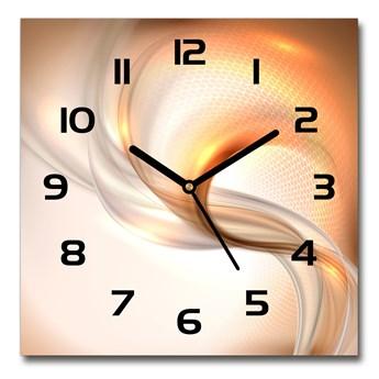 Zegar szklany na ścianę Abstrakcyjne tło