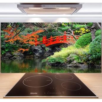 Panel do kuchni Japoński ogród