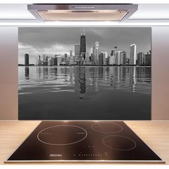 Panel szklany do kuchni Chicago