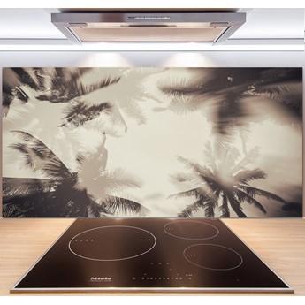 Panel szklany do kuchni Palmy