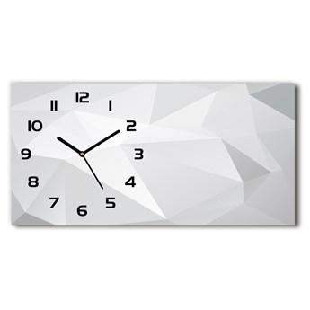 Zegar ścienny szklany cichy Abstrakcja tło