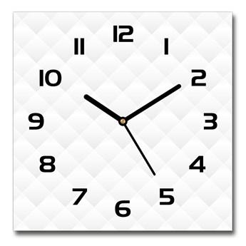 Zegar szklany na ścianę Abstrakcja tło