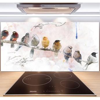 Panel do kuchni Ptaki na gałęzi
