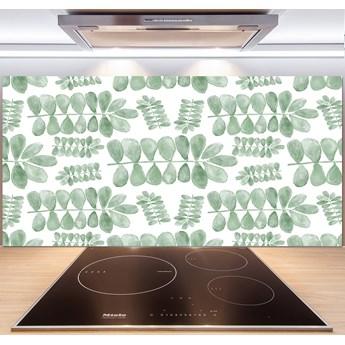 Panel do kuchni Zielone liście