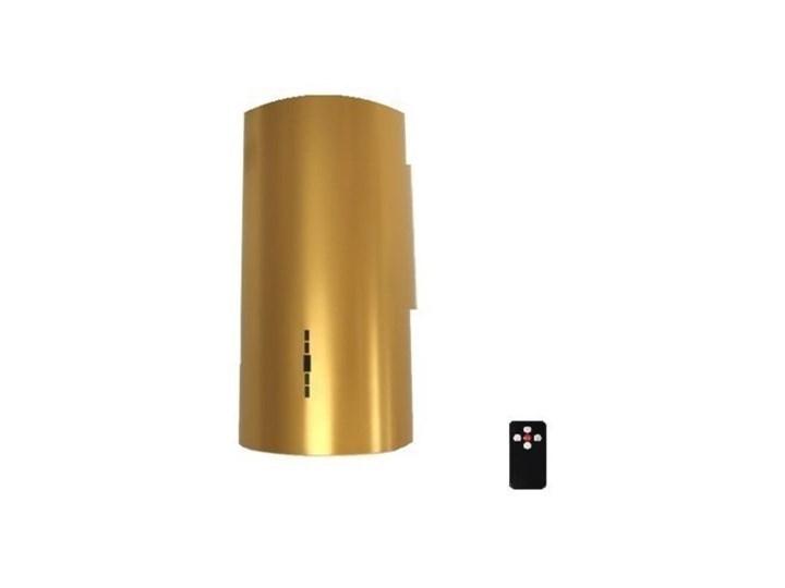 Okap MAAN Elba W39 Złoty Okap wyspowy Kolor Brązowy