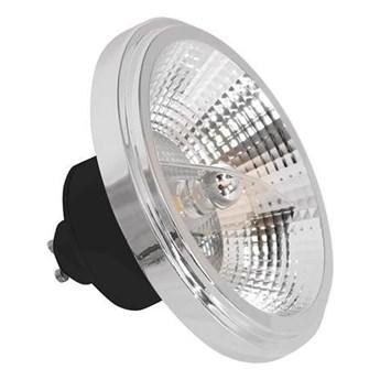 Żarówka LED 12W AR111 GU10 3000K czarna z odbłyśnikiem EKZA3391
