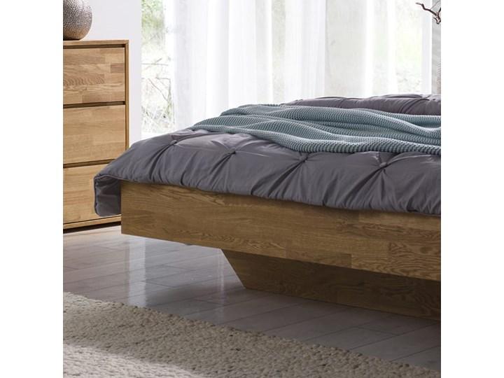 Łóżko dębowe FLOW Classic (140x200) Soolido Meble Łóżko drewniane Kolor Brązowy Kategoria Łóżka do sypialni