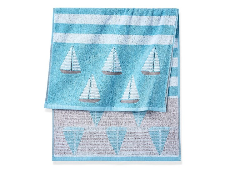 Ręczniki z motywem żaglówek | bonprix