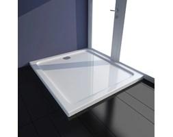 Brodzik prysznicowy prostokątny, ABS, biały, 80 x 90 cm