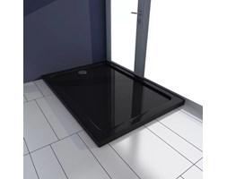 Brodzik prysznicowy prostokątny, ABS, czarny, 70 x 100 cm