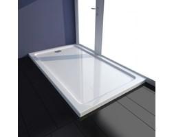 VidaXL Brodzik prysznicowy prostokątny, ABS, biały, 70 x 120 cm