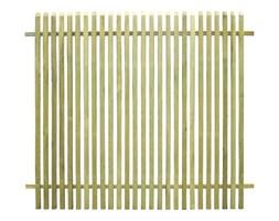 VidaXL Ogrodzenie z impregnowanego drewna sosnowego, 170 x 150 cm