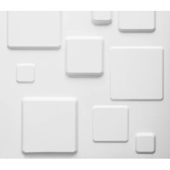 WallArt Panele ścienne 3D GA-WA09, 24 szt., Squares