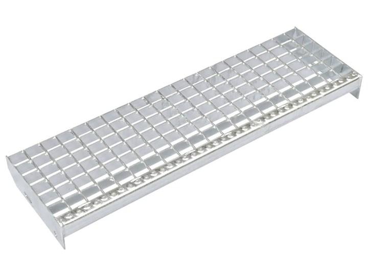 VidaXL Stopnie, 4 szt., zgrzewane, galwanizowana stal, 800x240 mm Kategoria