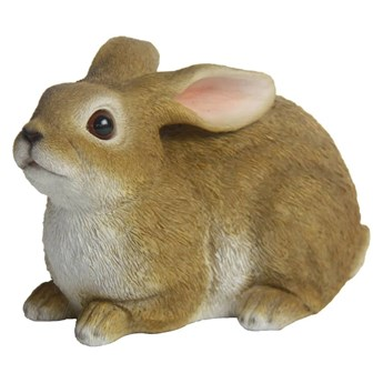 Esschert Design Figurka królika, 15,4 x 15,4 x 18,5 cm