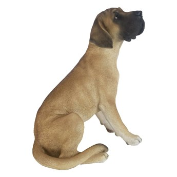 Esschert Design Siedzący dog niemiecki, 42,5x31,6x52,4 cm