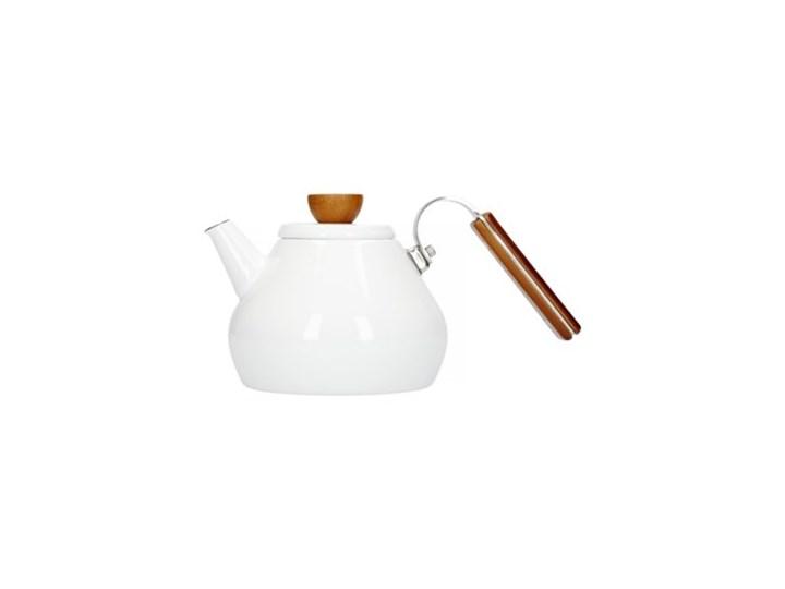 Czajnik HARIO Bona Tea Enamel Kettle Ze stali nierdzewnej Kategoria Czajniki Kolor Biały
