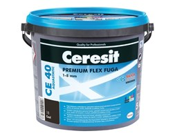 Fuga elastyczna Ceresit CE 40 Aquastatic coal 5 kg