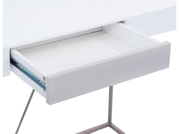 Biurko Grace Stal Drewno Szerokość 50 cm Głębokość 50 cm Płyta MDF Szerokość 110 cm Pomieszczenie Biuro